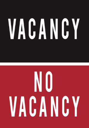 vacancy-novacancy
