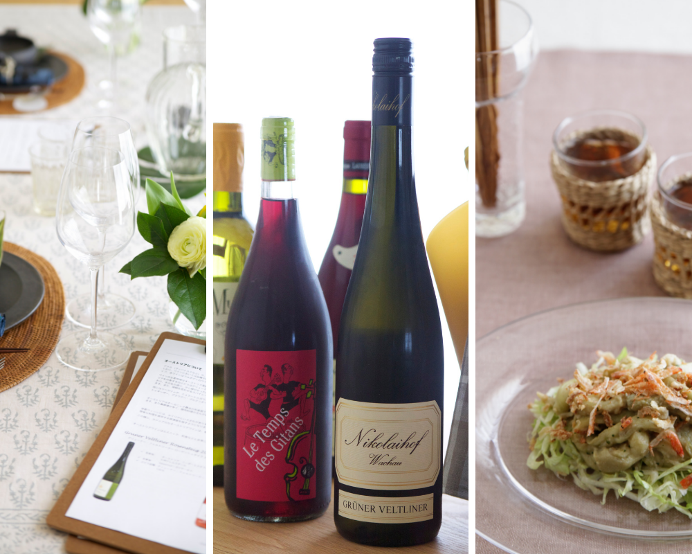 2019/05/12 春の『料理とワインの教室 La Bonne Chère』 in 世田谷百貨店
