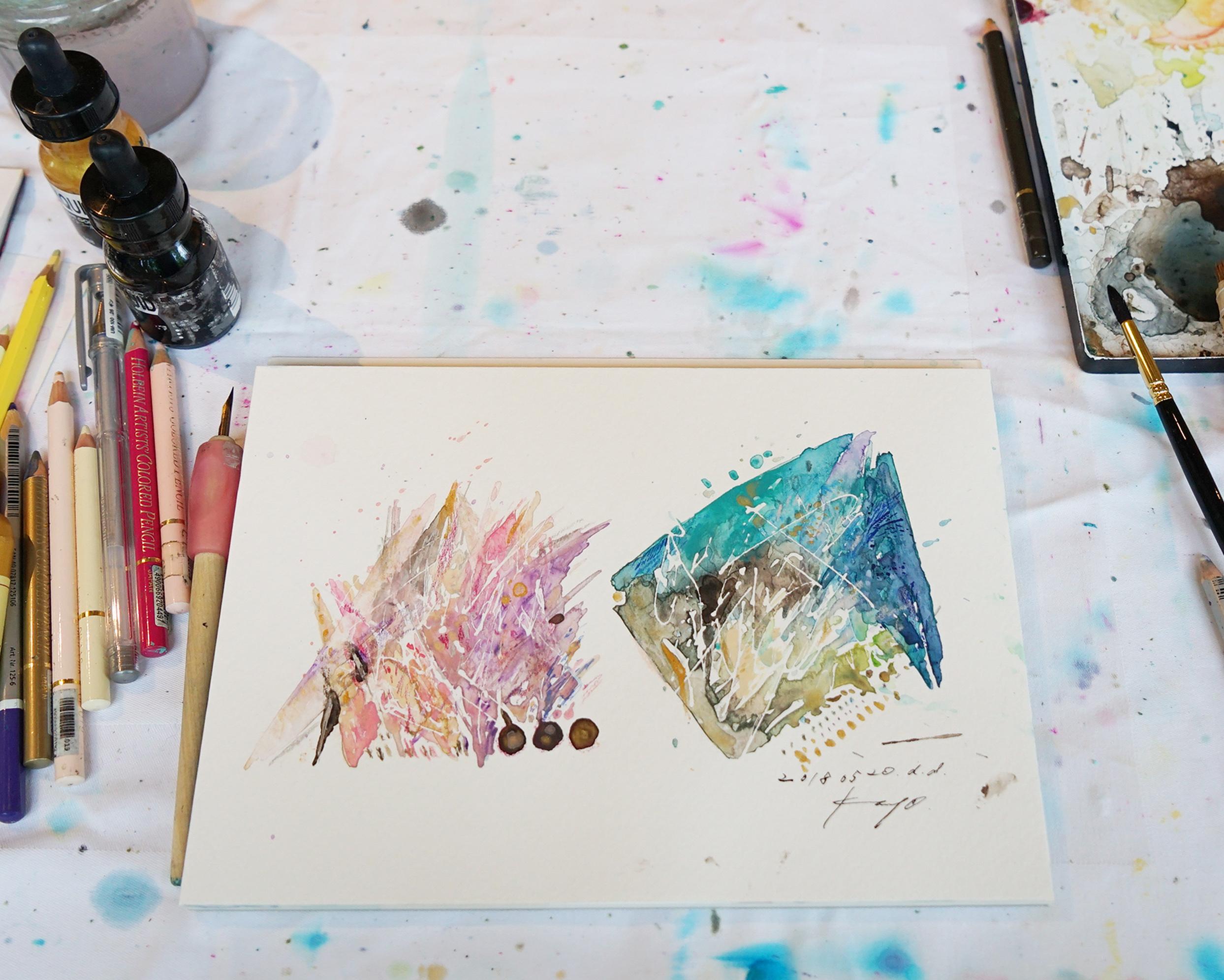 2019/02/10 野村 佳代 『対話を通して、あなただけの絵を』ライブアート