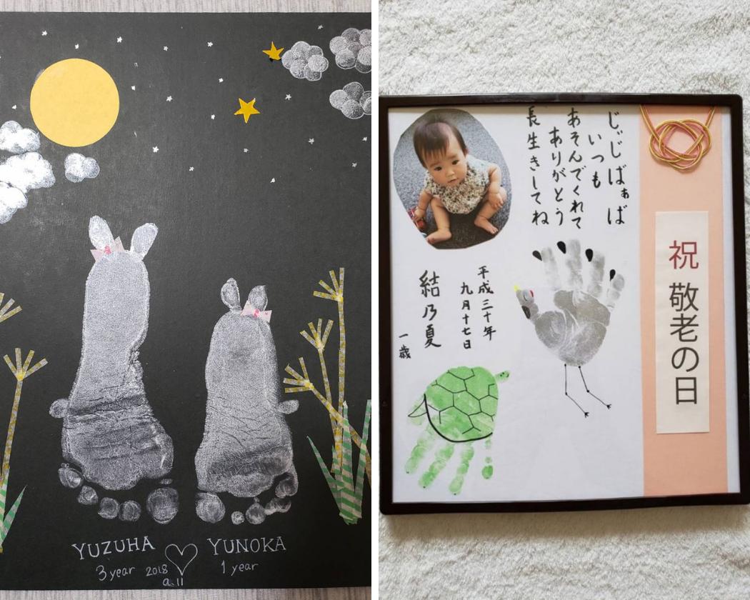 2019/09/12 市川愛美 手形アート ワークショップ